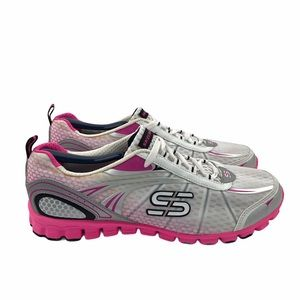 SKECHERS | Flex Barbed Wire Shoes | Pink | Sz 9